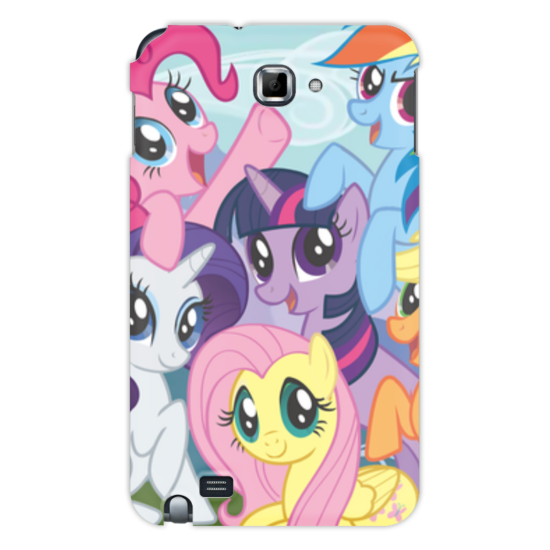 Чехол для Samsung Galaxy Note Printio My little pony