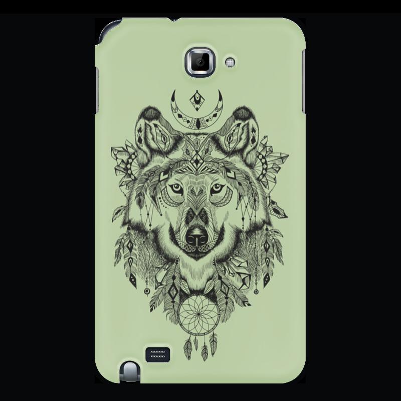 Чехол для Samsung Galaxy Note Printio Тотем. волк чехол для для мобильных телефонов rcd 4 samsung 4 for samsung galaxy note 4 iv