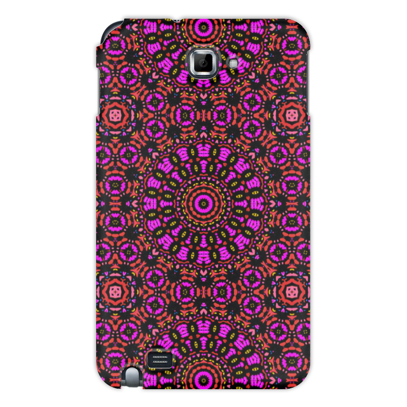 Чехол для Samsung Galaxy Note Printio Purple sintered copper motorcycle parts motorbike front