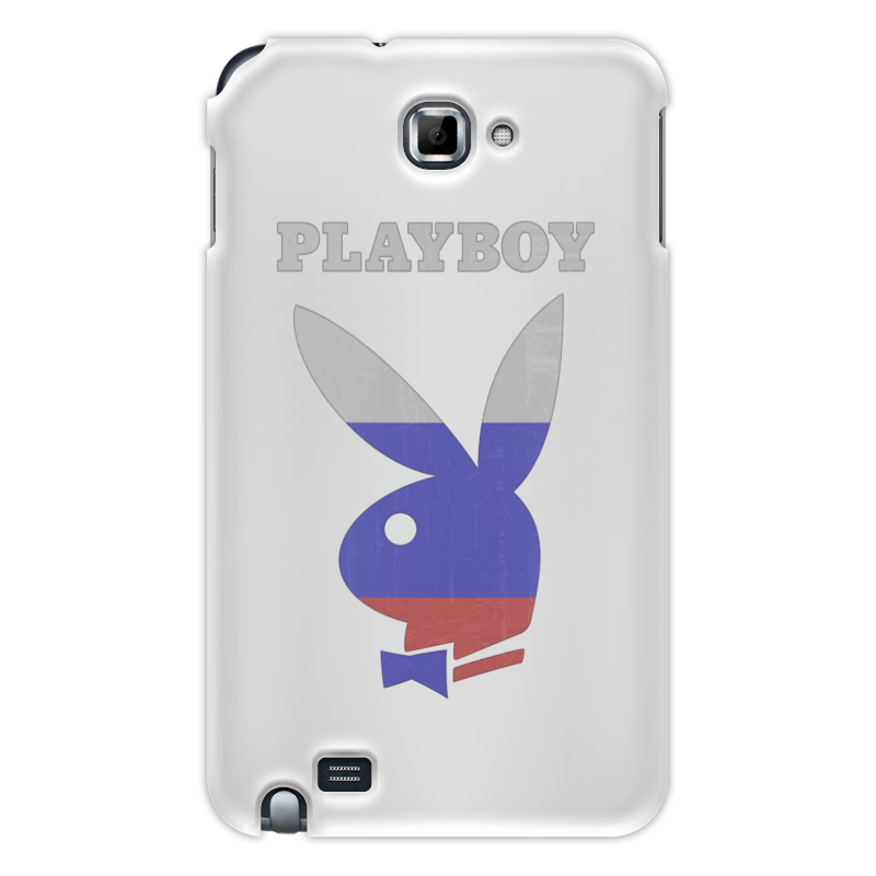 Чехол для Samsung Galaxy Note Printio Playboy россия
