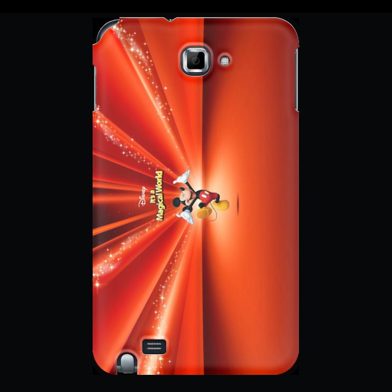 Чехол для Samsung Galaxy Note Printio Микки маус чехол для iphone 6 глянцевый printio микки маус