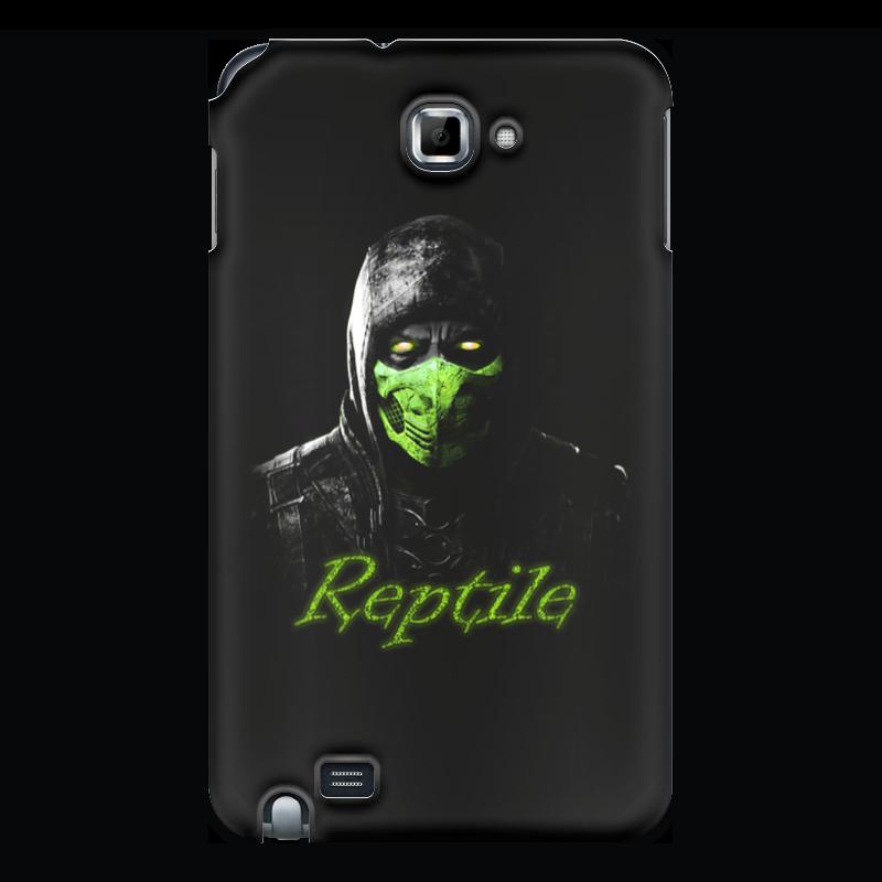 Чехол для Samsung Galaxy Note Printio Reptile скачать бесплатные игры для samsung