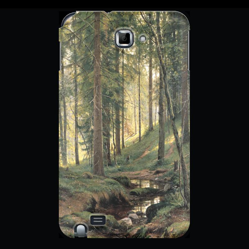 Чехол для Samsung Galaxy Note Printio Ручей в лесу новый русский базар 1869 1898