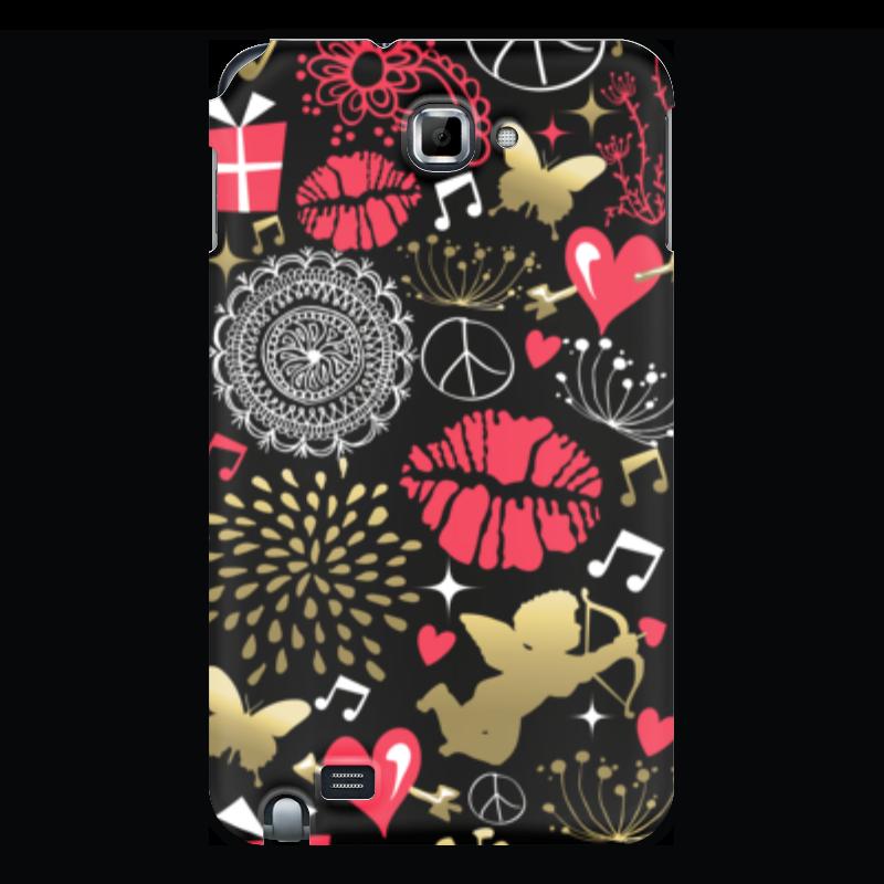 Чехол для Samsung Galaxy Note Printio Валентинка чехол для для мобильных телефонов rcd 4 samsung 4 for samsung galaxy note 4 iv