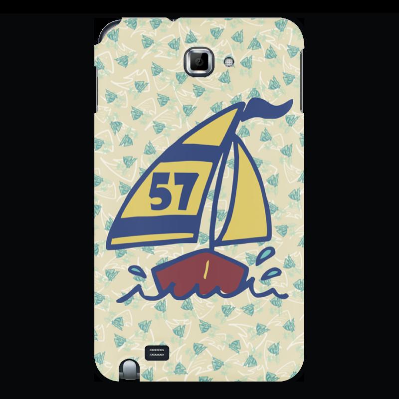 Чехол для Samsung Galaxy Note Printio Кораблик