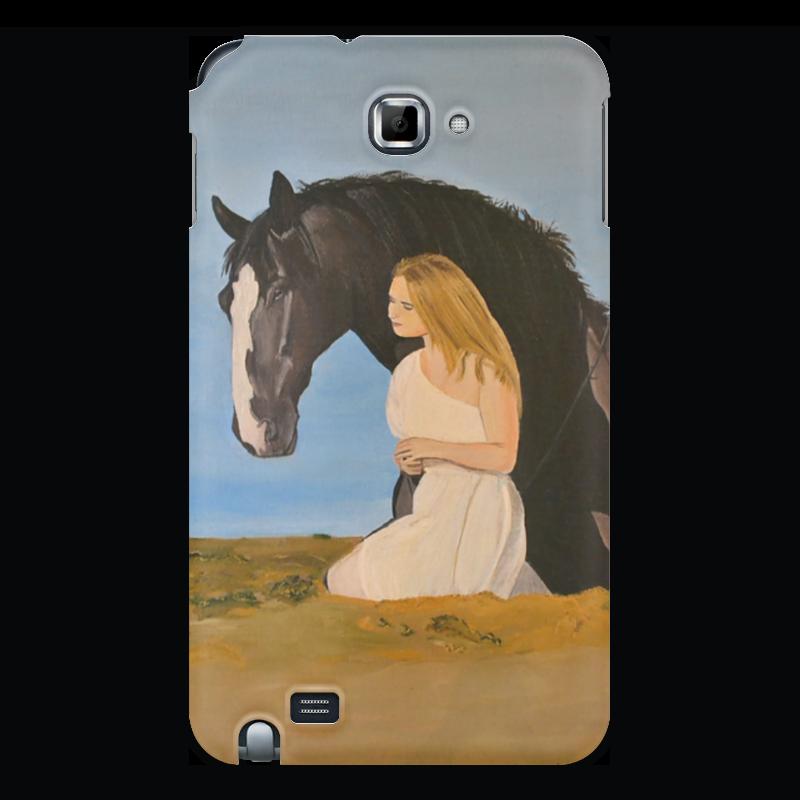 Чехол для Samsung Galaxy Note Printio Мария и принц чехол для samsung galaxy note 2 printio аксессуар для телефона