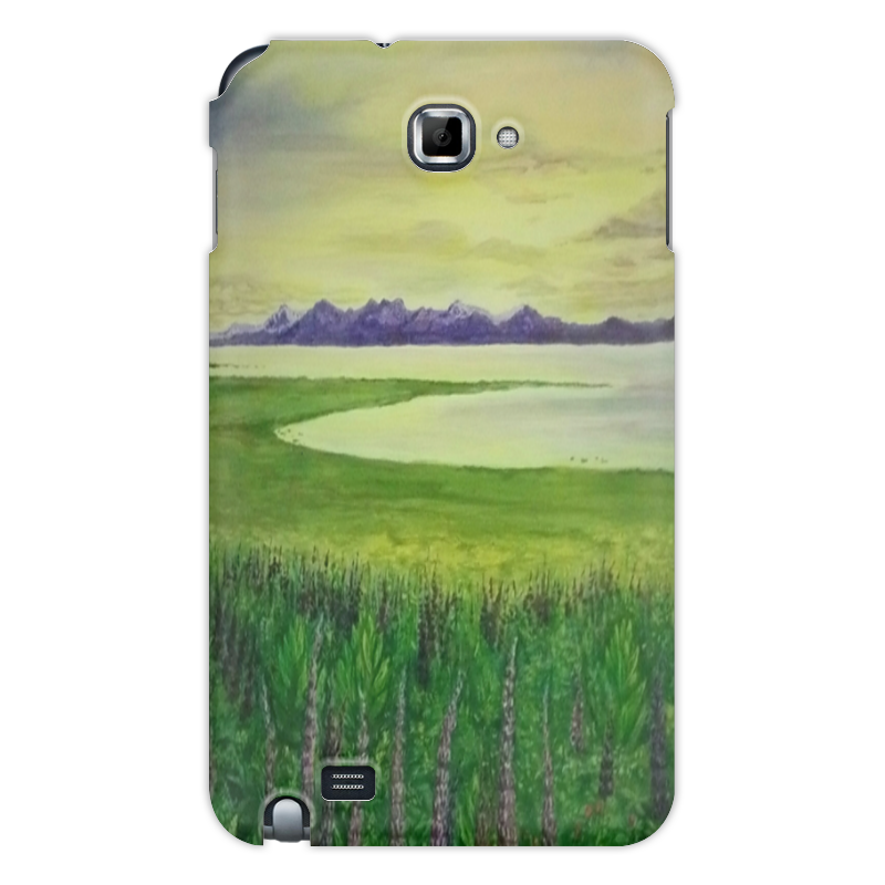 Чехол для Samsung Galaxy Note Printio Прованс