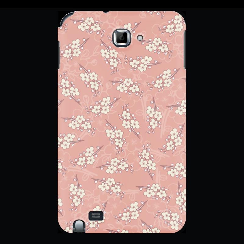 Чехол для Samsung Galaxy Note Printio Цветочный принт