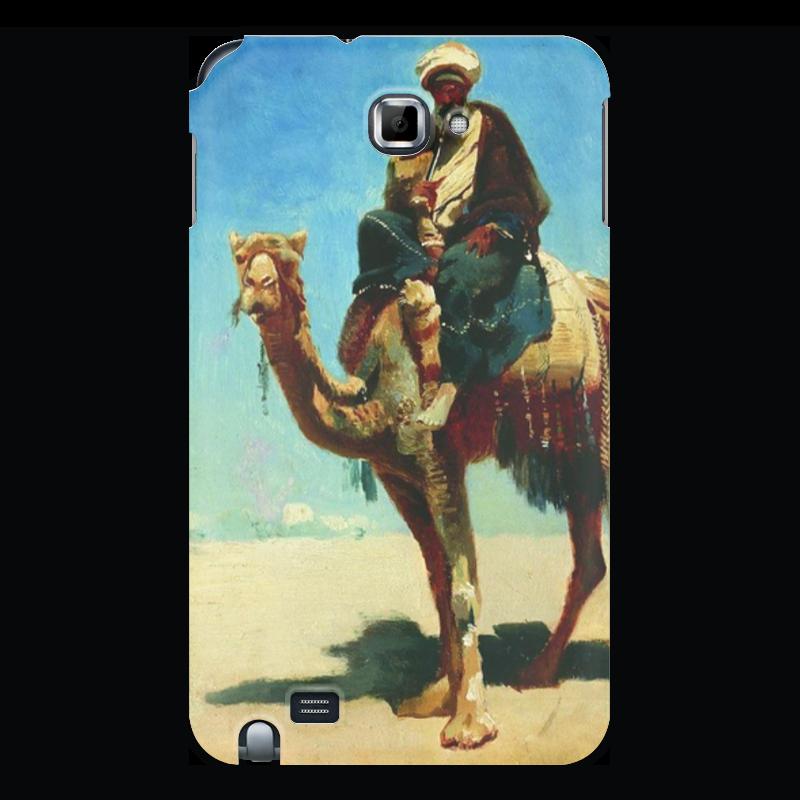 Чехол для Samsung Galaxy Note Printio Араб на верблюде (василий верещагин) cubic fun mc101h кубик фан отель бурж эль араб оаэ