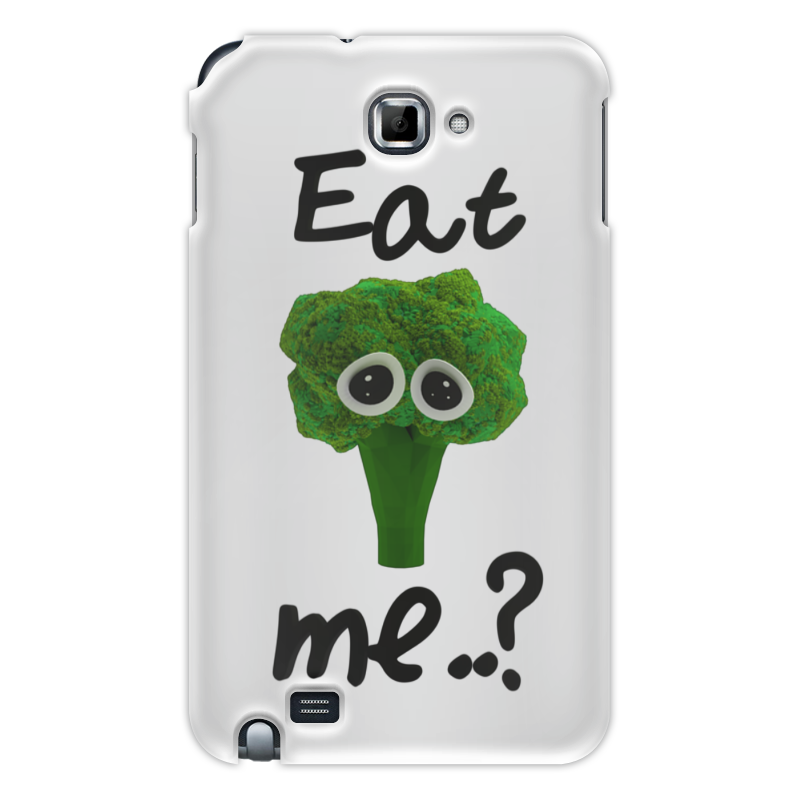 Чехол для Samsung Galaxy Note Printio Eat me..? цена