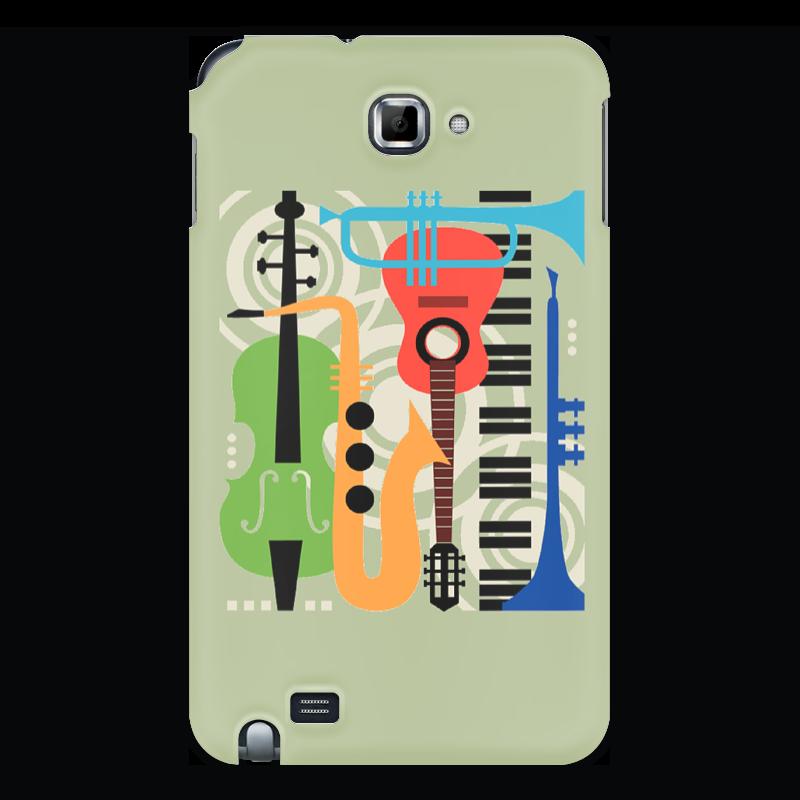 Чехол для Samsung Galaxy Note Printio Музыкальные инструменты