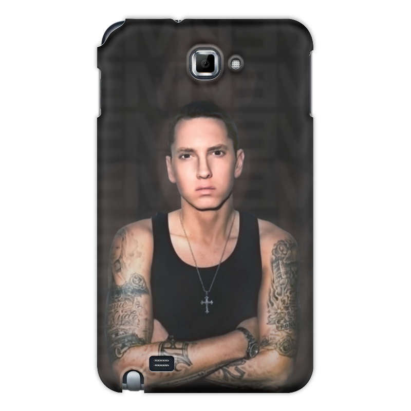 Чехол для Galaxy Note Printio Eminem body