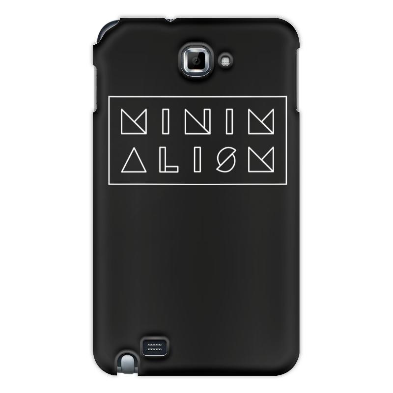 Чехол для Samsung Galaxy Note Printio Минимализм