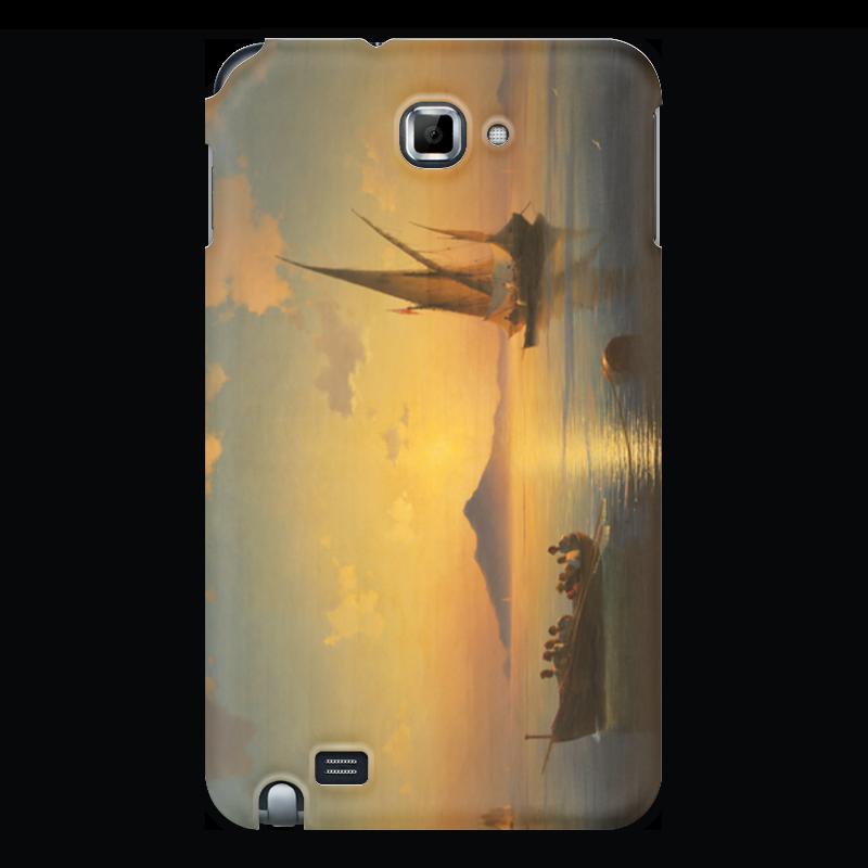 Чехол для Samsung Galaxy Note Printio Неаполитанский залив настенные часы русский меценат рм 775