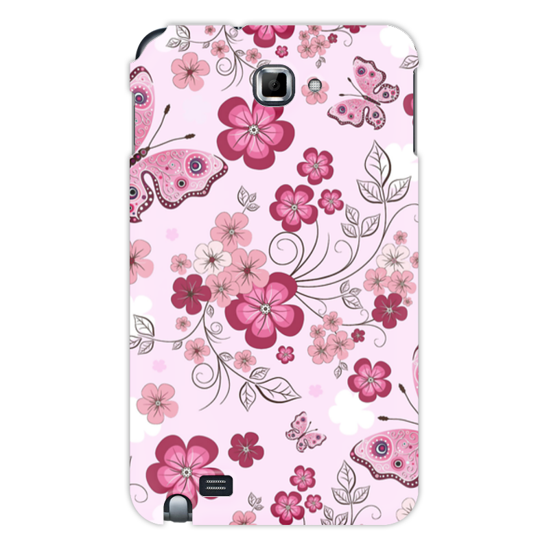 Чехол для Samsung Galaxy Note Printio Бабочки