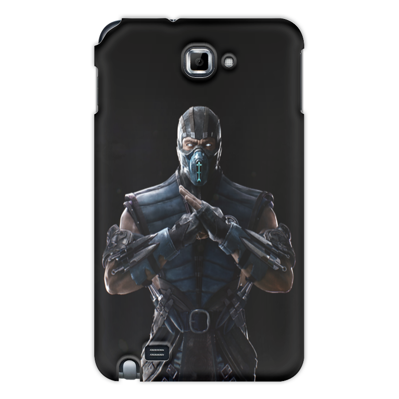 Чехол для Samsung Galaxy Note Printio Mortal kombat x (sub-zero) аксессуар чехол для samsung galaxy note 8 x level guardian blue 2828 045