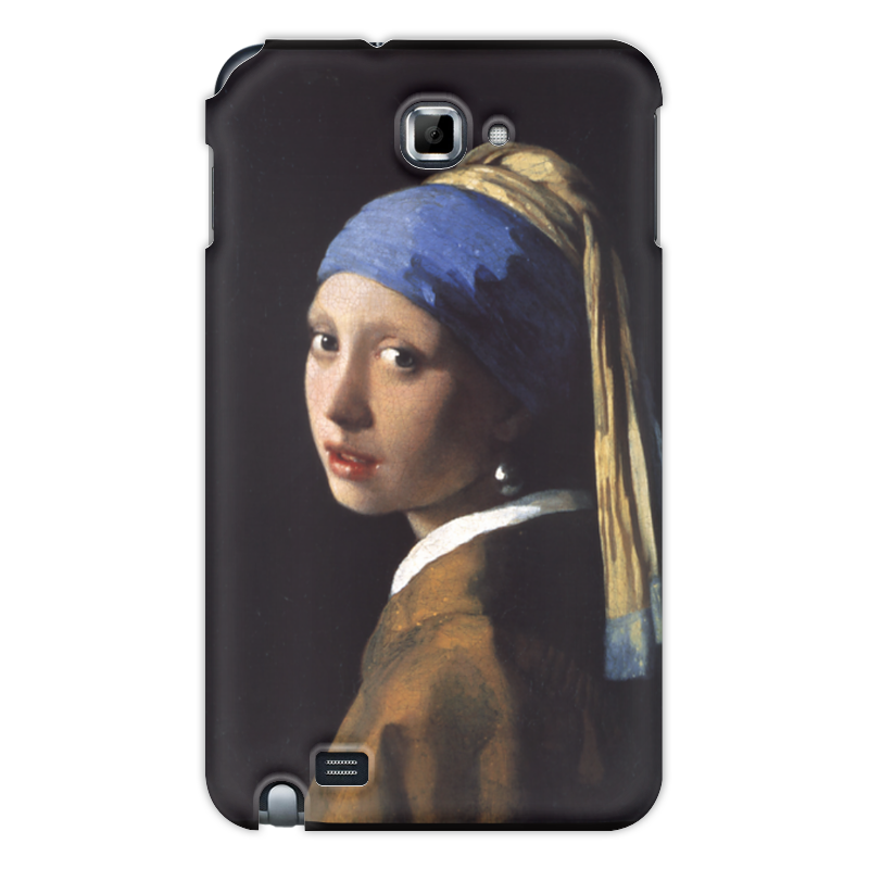 Чехол для Samsung Galaxy Note Printio Девушка с жемчужной серёжкой (ян вермеер) pr m28veзеркальце девушка с жемчужной сережкой ян вермеер museum parastone