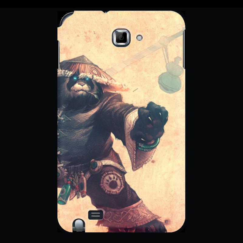 Чехол для Samsung Galaxy Note Printio Warcraft collection: panda чехол для для мобильных телефонов rcd 4 samsung 4 for samsung galaxy note 4 iv