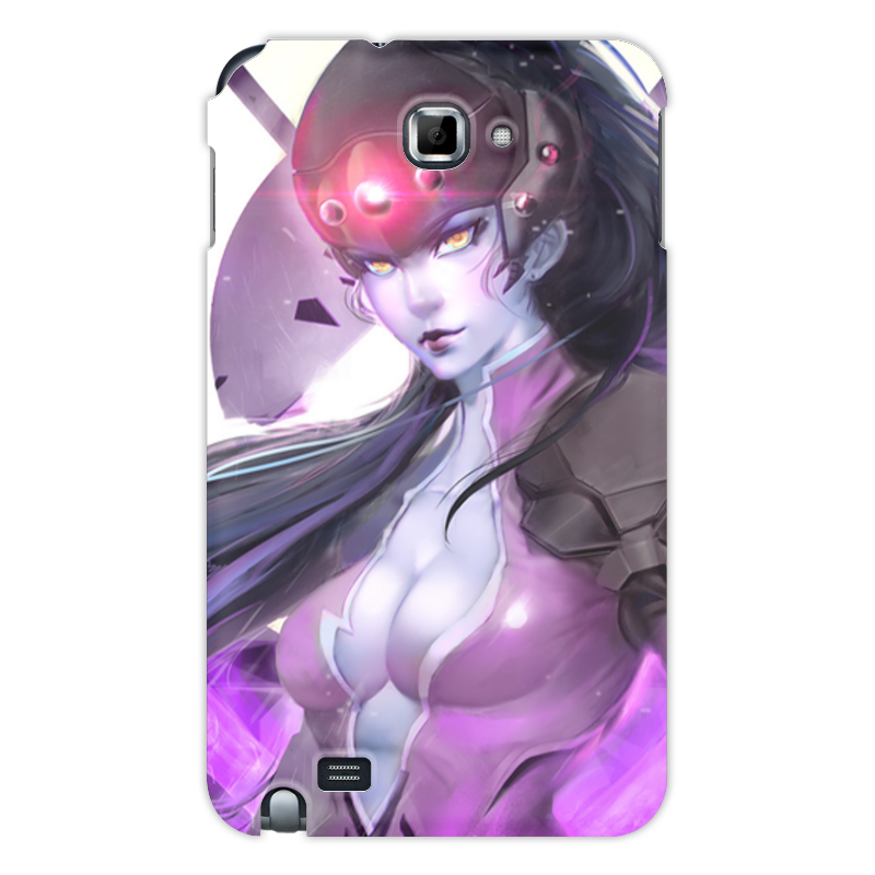 Чехол для Samsung Galaxy Note Printio Overwatch: widowmaker