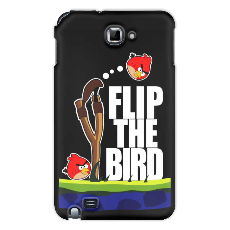 Чехол для Samsung Galaxy Note Printio Flip the bird майка классическая printio flip the bird