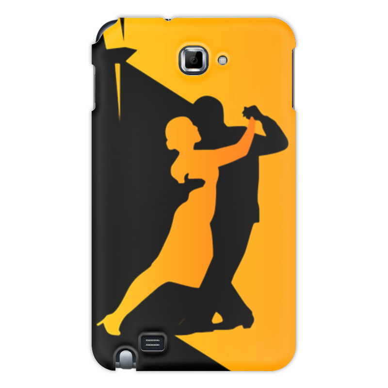 Чехол для Samsung Galaxy Note Printio Танго в ночи мячи адидас танго в киеве
