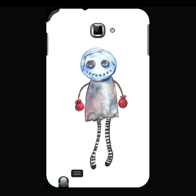 Чехол для Samsung Galaxy Note Printio Человечек вуду цена