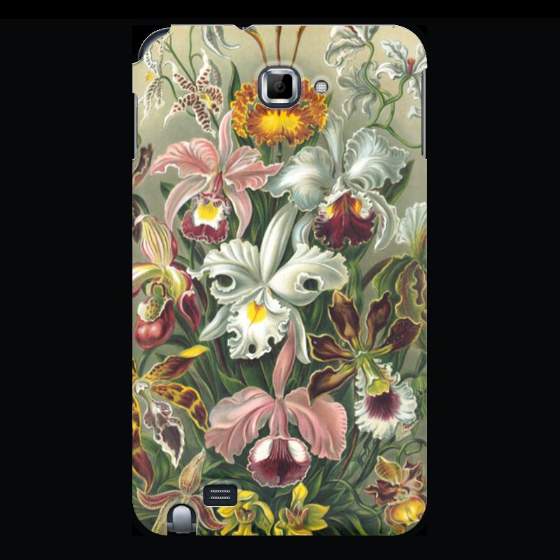 Чехол для Samsung Galaxy Note Printio Орхидеи (orchideae, ernst haeckel) самые дешевые орхидеи в москве