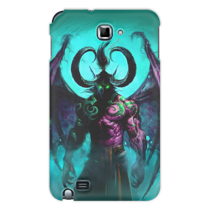 Чехол для Samsung Galaxy Note Printio Warcraft collection: illidan эспадрильи zenden collection zenden collection ze012agpre18