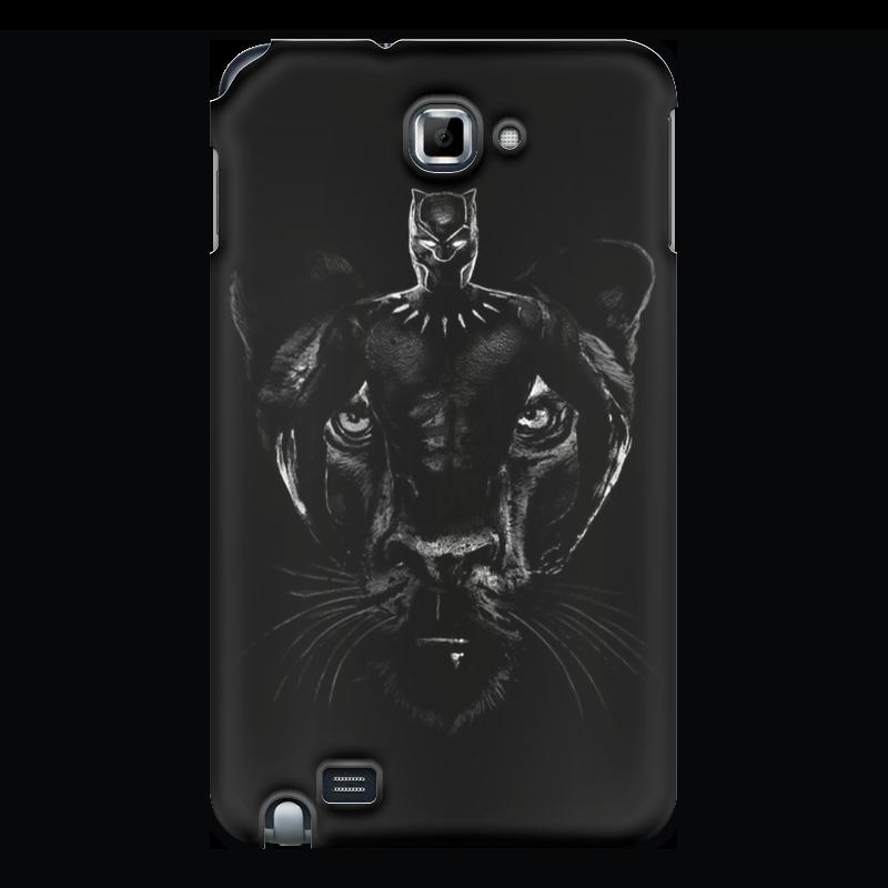 Чехол для Samsung Galaxy Note Printio Черная пантера чехол для для мобильных телефонов rcd 4 samsung 4 for samsung galaxy note 4 iv