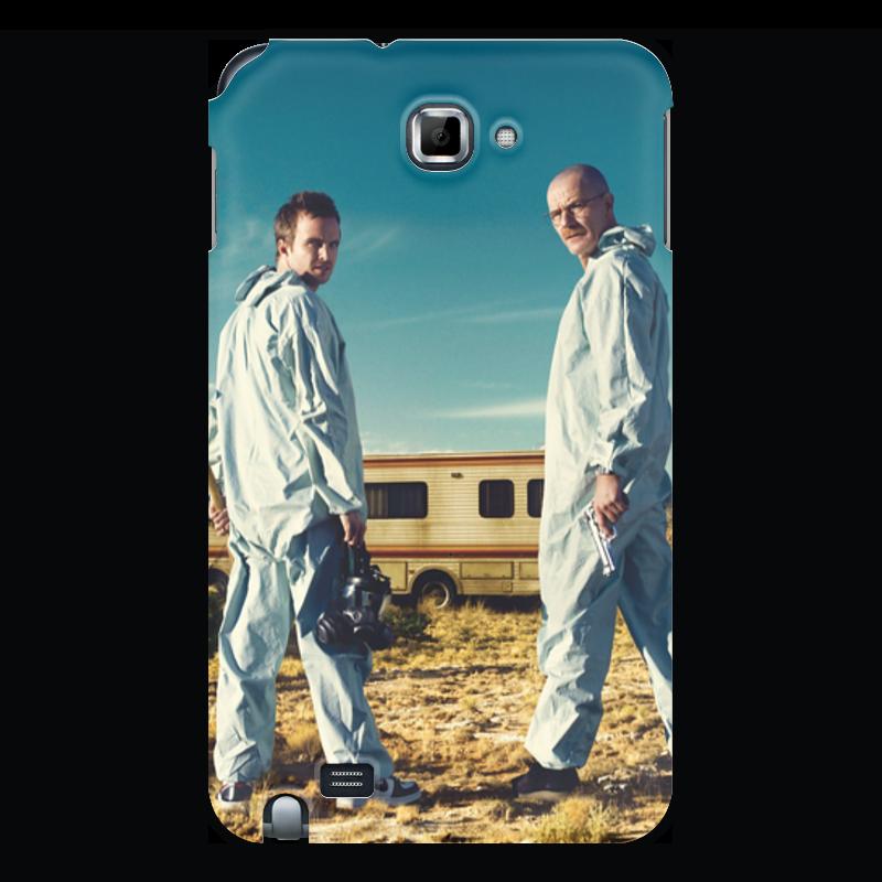 Чехол для Samsung Galaxy Note Printio Во все тяжкие цена и фото