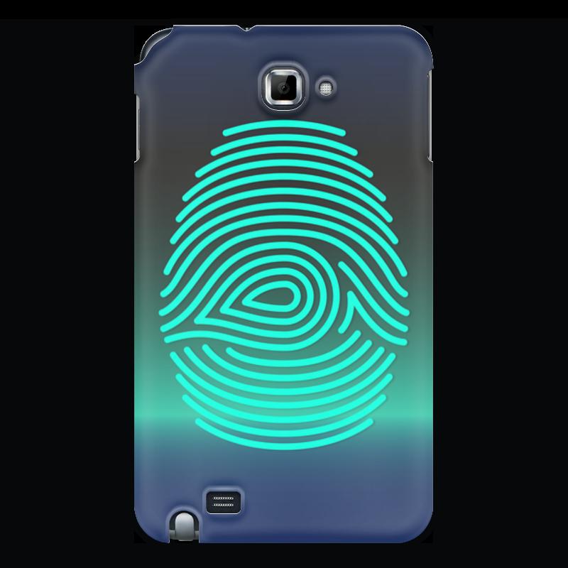 Чехол для Samsung Galaxy Note Printio Отпечаток пальца чехол для для мобильных телефонов rcd 4 samsung 4 for samsung galaxy note 4 iv
