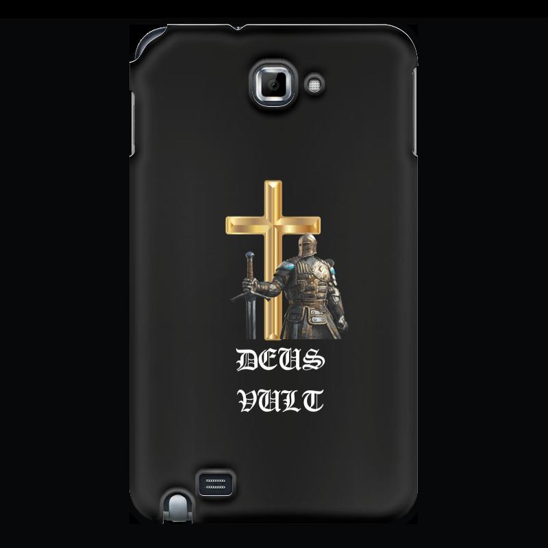 Чехол для Samsung Galaxy Note Printio Deus vult. крестоносцы