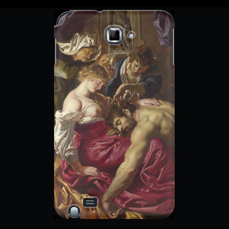 Чехол для Samsung Galaxy Note Printio Самсон и далила (картина питера пауля рубенса)