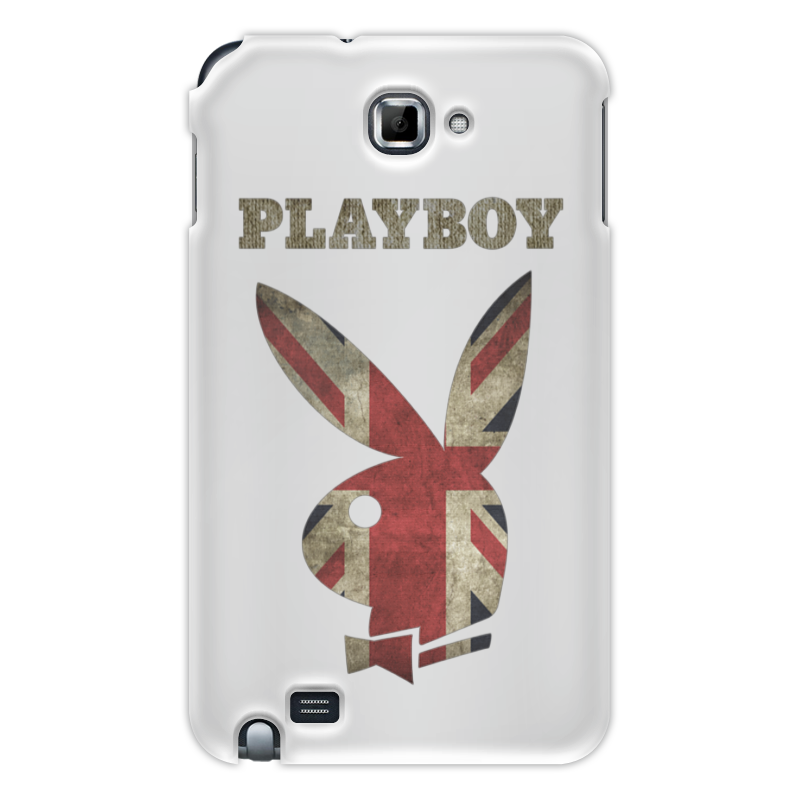 Чехол для Samsung Galaxy Note Printio Playboy британский флаг