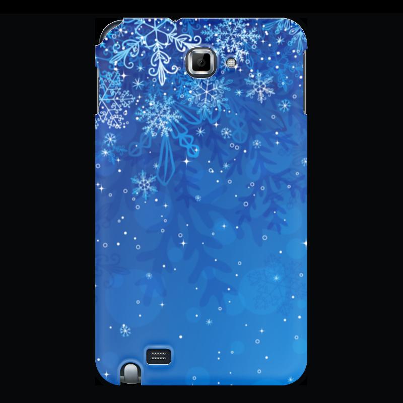 Чехол для Samsung Galaxy Note Printio Снежинки стилус other apple ipad samsung galaxy s3 i9300 21 eg0628