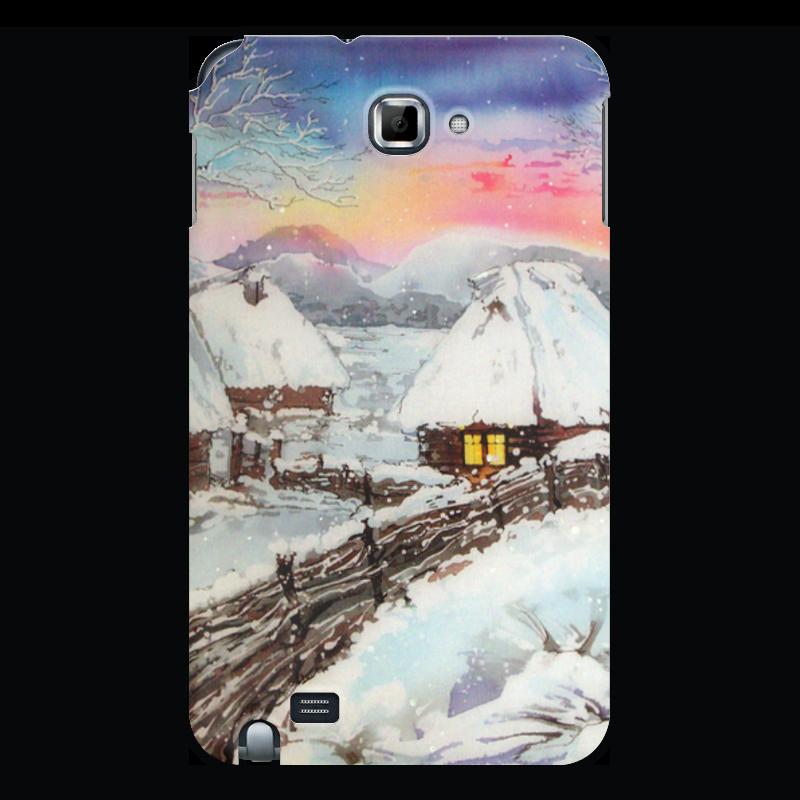 Чехол для Samsung Galaxy Note Printio Зимнее. чехол для ноутбука 14 printio зимний пейзаж