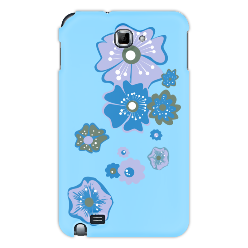Чехол для Samsung Galaxy Note Printio Цветы