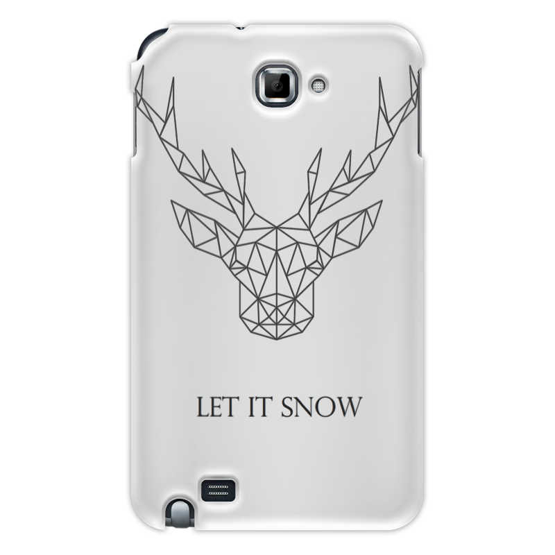 лучшая цена Чехол для Samsung Galaxy Note Printio Dear deer