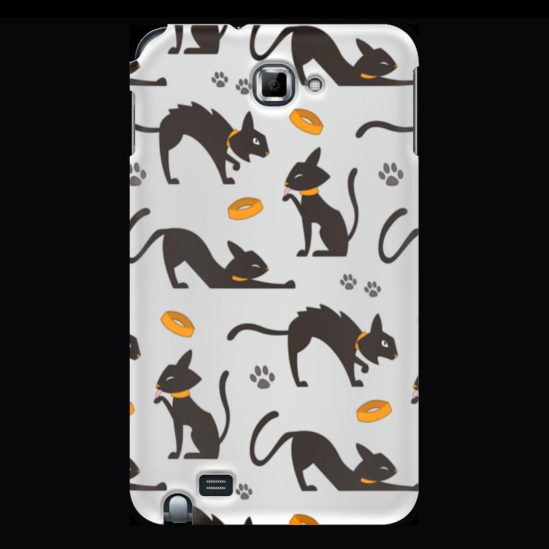 Чехол для Samsung Galaxy Note Printio Чёрные кошки springway женские чёрные балетки