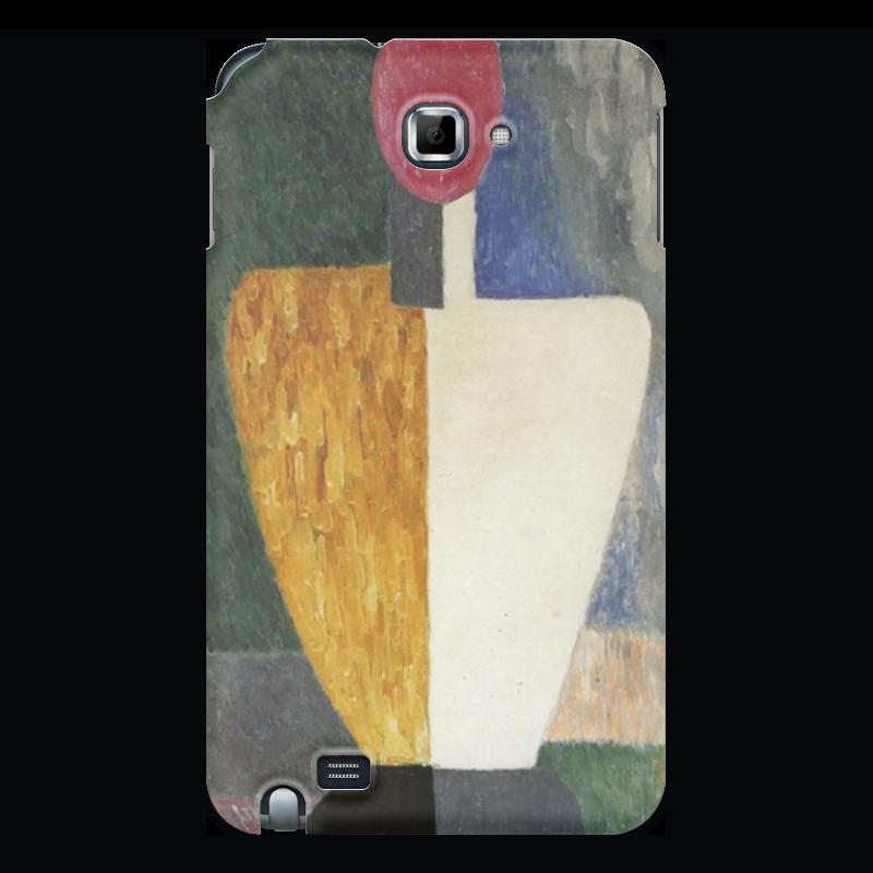 Чехол для Samsung Galaxy Note Printio Торс (фигура с розовым лицом) (малевич) чехол для samsung galaxy s5 printio торс фигура с розовым лицом малевич
