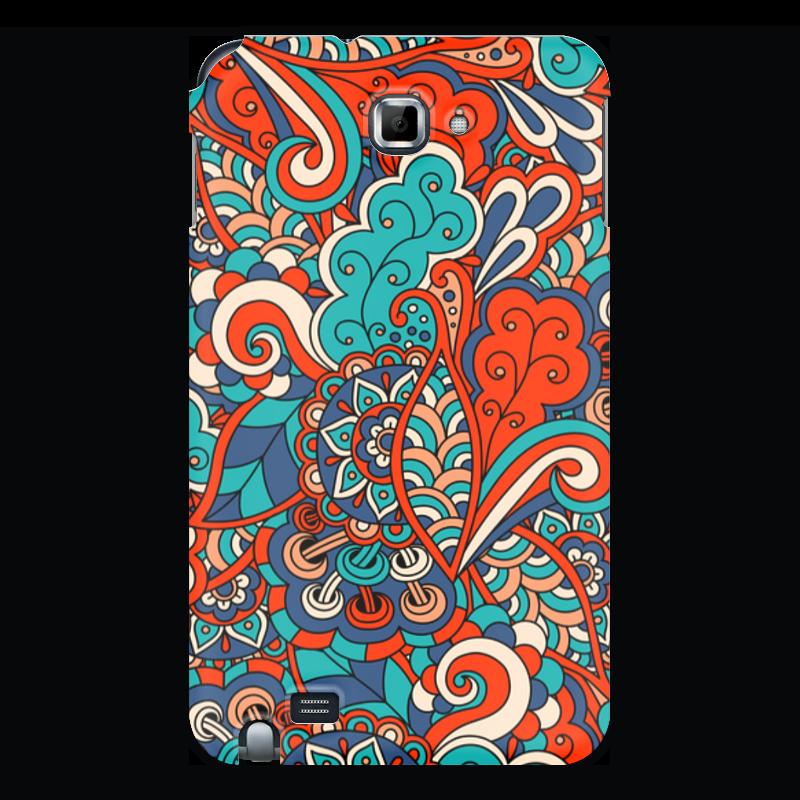 лучшая цена Чехол для Samsung Galaxy Note Printio Дудл узор