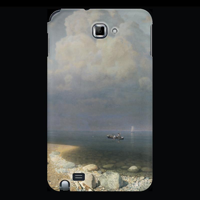Чехол для Samsung Galaxy Note Printio Ладожское озеро (картина архипа куинджи) чехол для samsung galaxy s3 printio неизвестная картина крамского