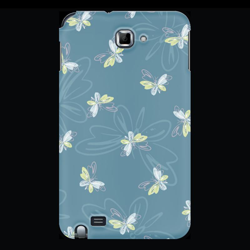 Чехол для Samsung Galaxy Note Printio Бабочки чехол для для мобильных телефонов rcd 4 samsung 4 for samsung galaxy note 4 iv