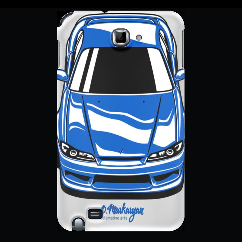 Чехол для Samsung Galaxy Note Printio Silvia s15