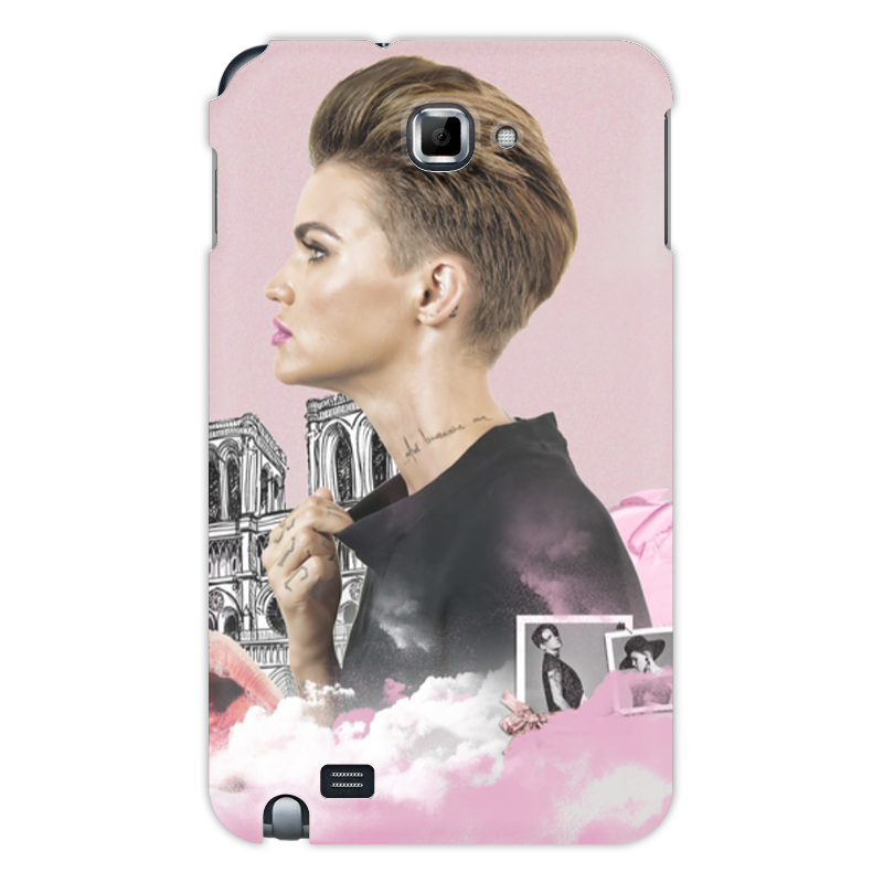 Чехол для Samsung Galaxy Note Printio Ruby rose