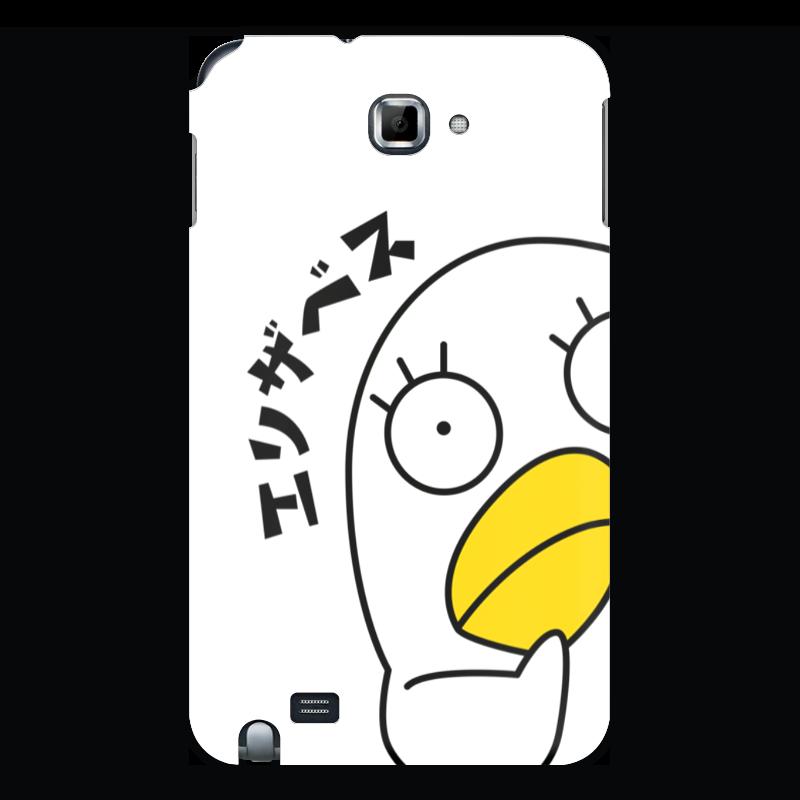 Чехол для Samsung Galaxy Note Printio Гинтама. элизабет чехол для для мобильных телефонов rcd 4 samsung 4 for samsung galaxy note 4 iv