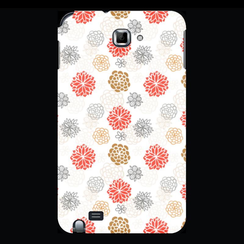 Чехол для Samsung Galaxy Note Printio Цветочный чехол для для мобильных телефонов rcd 4 samsung 4 for samsung galaxy note 4 iv
