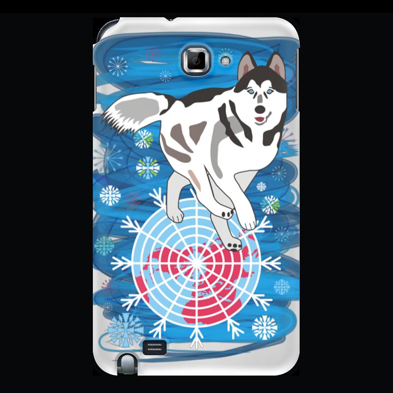 Чехол для Samsung Galaxy Note Printio Бегущая по снегам бегущая строка светодиодная дешево