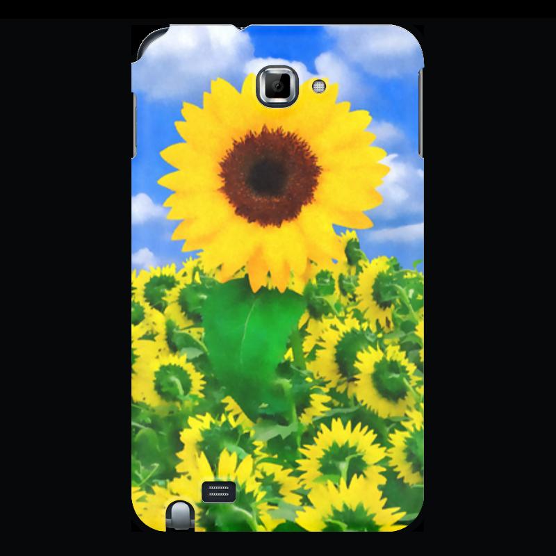 Чехол для Samsung Galaxy Note Printio Подсолнух puzzle 1000 поле подсолнухов кб1000 6897
