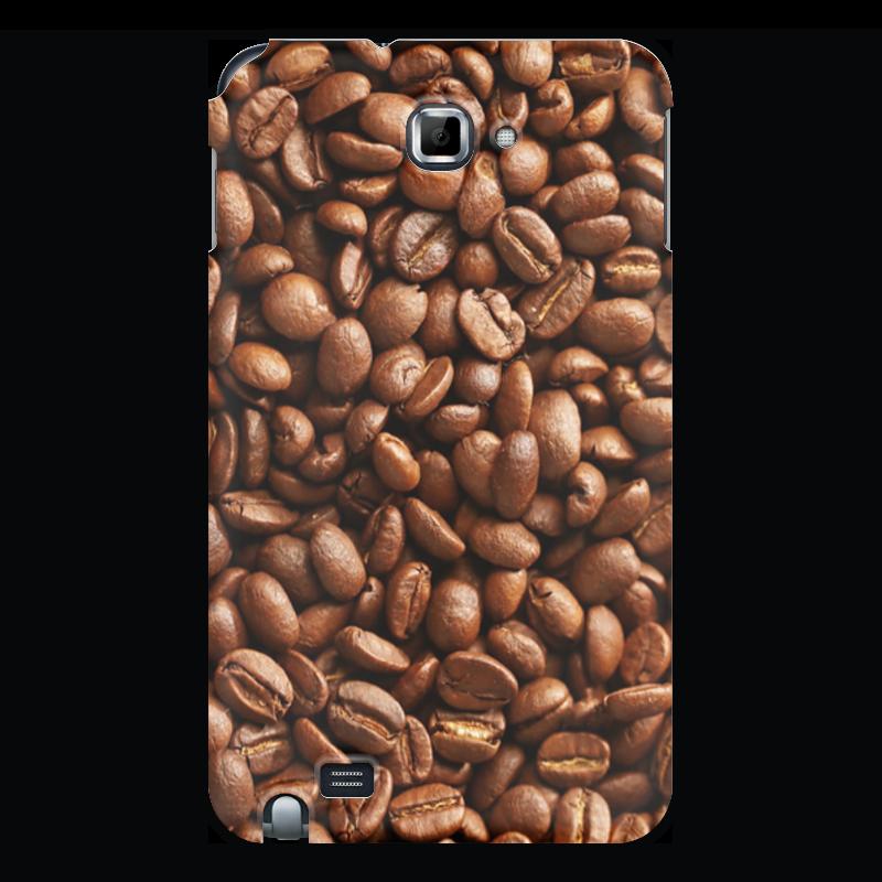 где купить Чехол для Samsung Galaxy Note Printio Кофейные зерна по лучшей цене